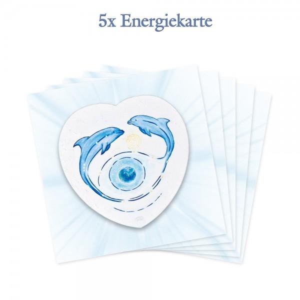 5er-Pack - Energiekarten - Vision der Schöpfung