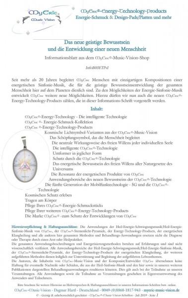 Vorblatt-Ansicht = Seite 1 des Informationsblattes
