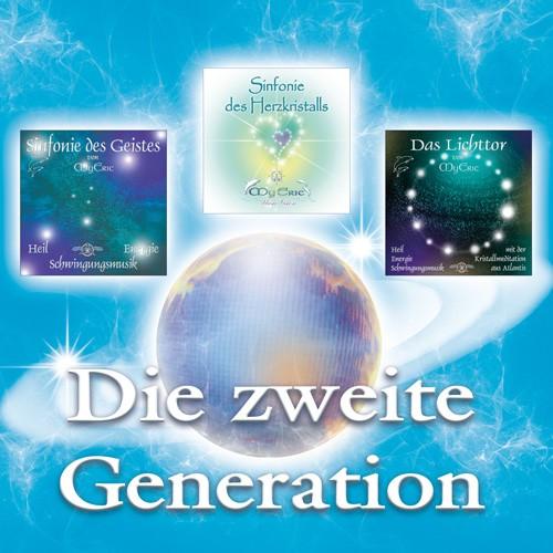 """Produktdarstellung - Set """"Die zweite Generation"""" von MyEric (Planeten-Bild nicht im Set enthalten)"""