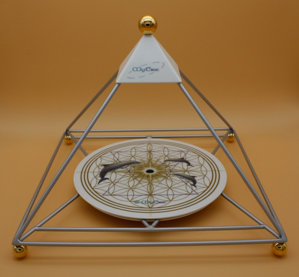 MyEric-Sternenlicht-Pyramide - Silber