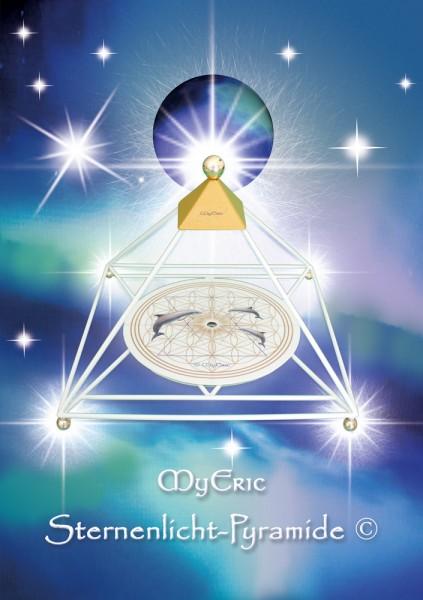 """Cover-Bild der Informations-Schrift """"MyEric-Sternenlicht-Pyramide"""""""