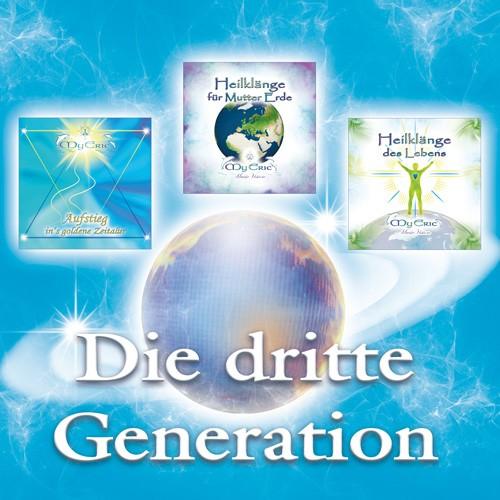 """Produktdarstellung - Set """"Die dritte Generation"""" von MyEric (Planeten-Bild nicht im Set enthalten)"""
