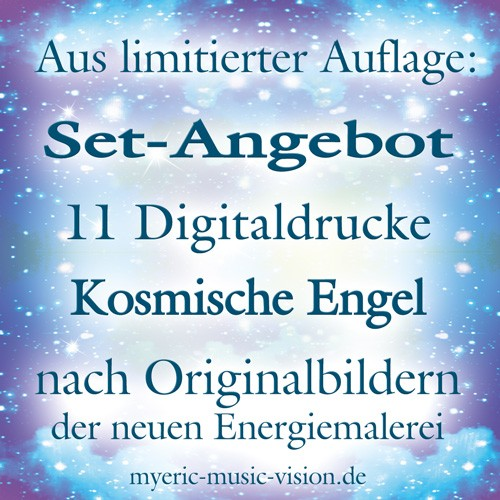 11er-Special-Set - Digital-Drucke - Kosmische-Engel-Serie