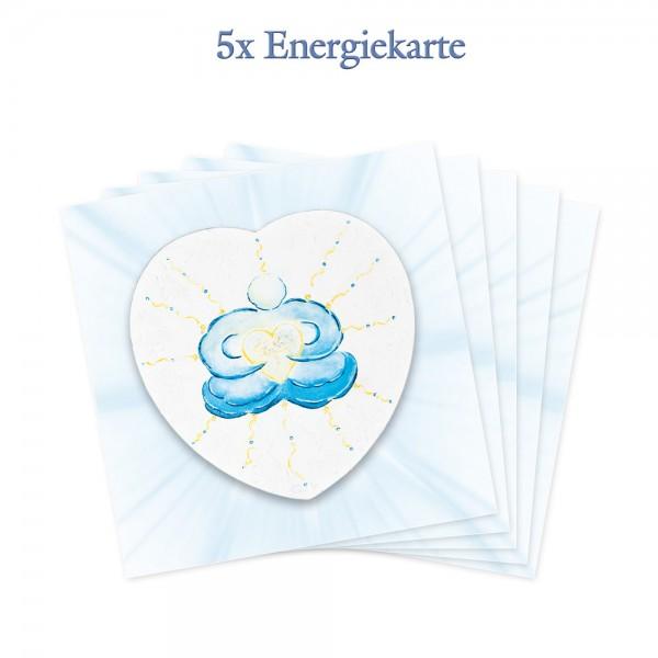 5er-Pack - Energiekarten - Vision im Einklang