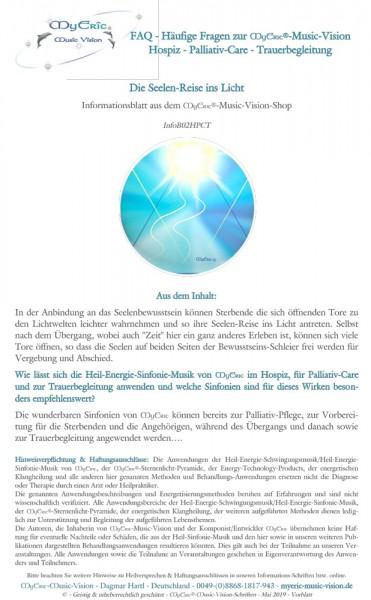 Vorblatt-Ansicht des Informationsblattes