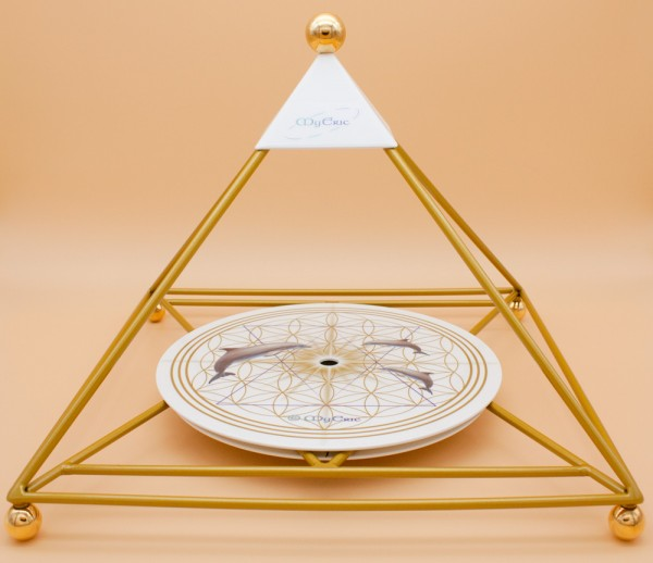"""MyEric-Sternenlicht-Pyramide"" Variante in Gold"