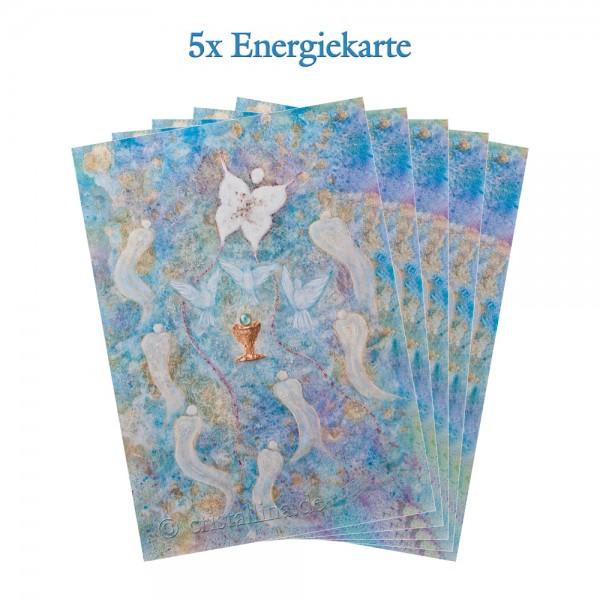 5er-Pack - Energiekarten - Seelenerleuchtung
