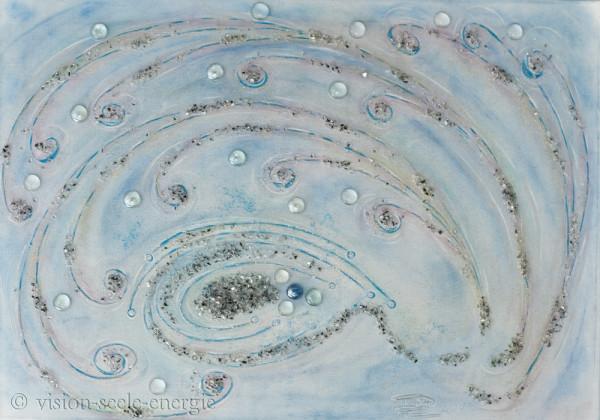 Reichtum Gaia - 70 x 50 cm - Original-Bild auf Leinwand-Keilrahmen
